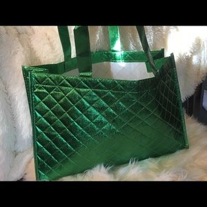 Handbags - Green tote/shopper